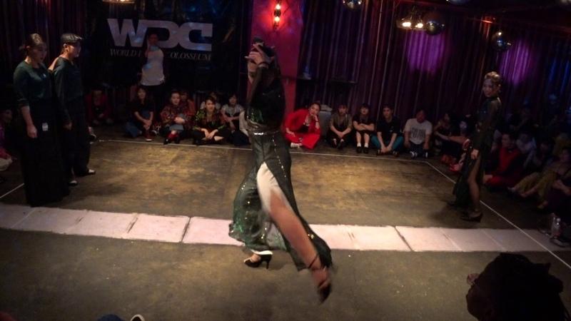 GRANDEEL vs Gauner BEST16 WAACK WDC 2018 FINAL World Dance Colosseum