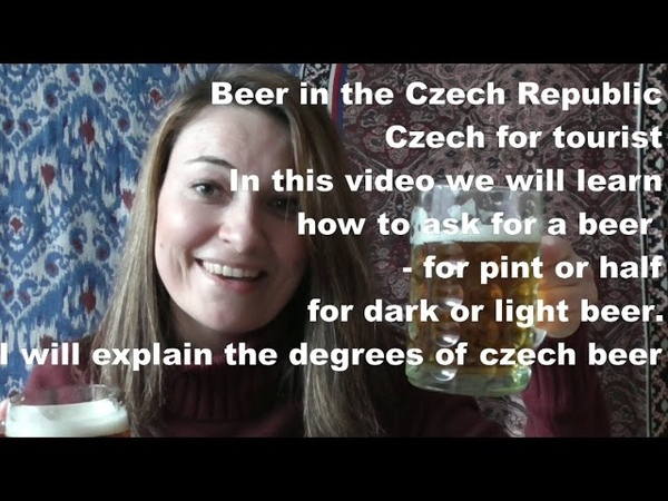 Basic Czech for tourist, part 6, beer, useful, czech, phrases, Prague, language, beer, culture