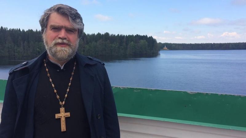 Интервью протоиерея Романа Гуцу в Александро-Свирском монастыре