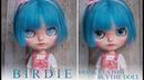 B i R D i E ooak custom blythe doll