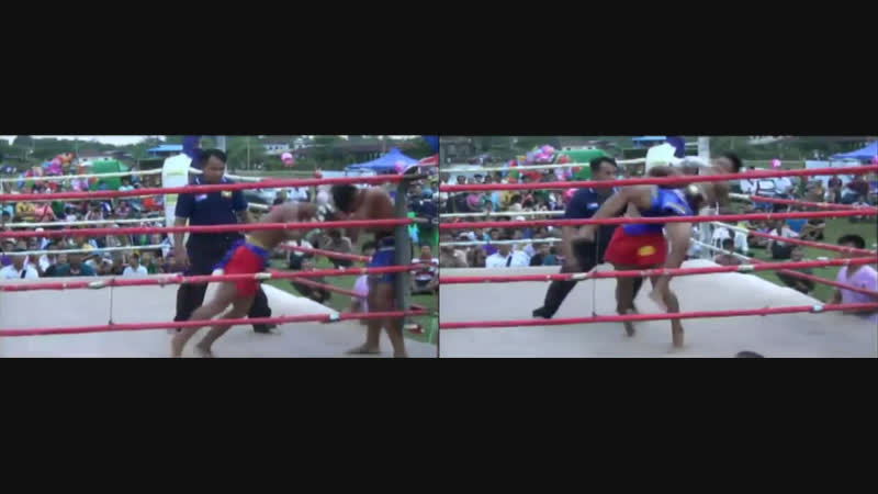 Бирманский бокс летхвей активное использование бросков ударов головой и коленями Taung Ka Lay