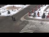Легкий зимний бриз на юге России