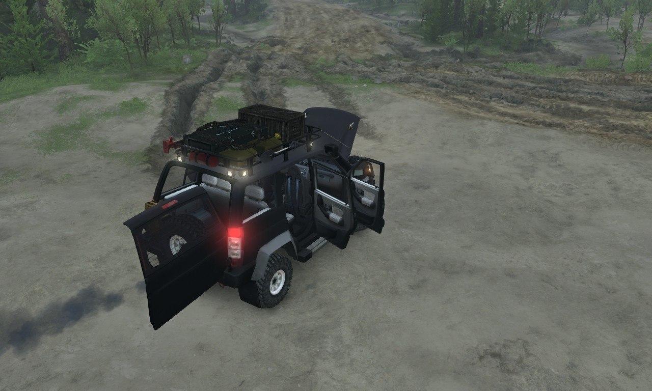 УАЗ Патриот Concept для 03.03.16 для Spintires - Скриншот 2