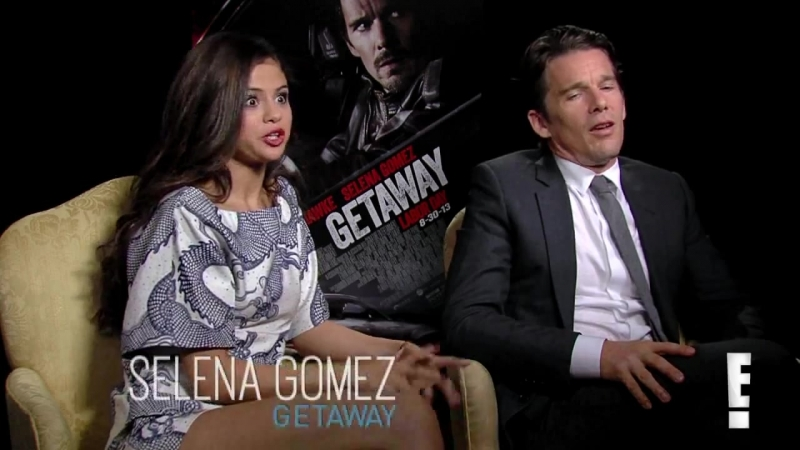 Selena Gomez Teaches Ethan Hawke How to Twerk