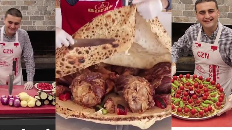 Посмотри как он классно готовить Турецкий повар Бурак Оздемир