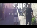 March 27 Video of Justin arriving at Voda Spa in West Hollywood, California.