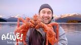 Brad Cooks Crabs in Alaska (Part 2) It's Alive Bon App