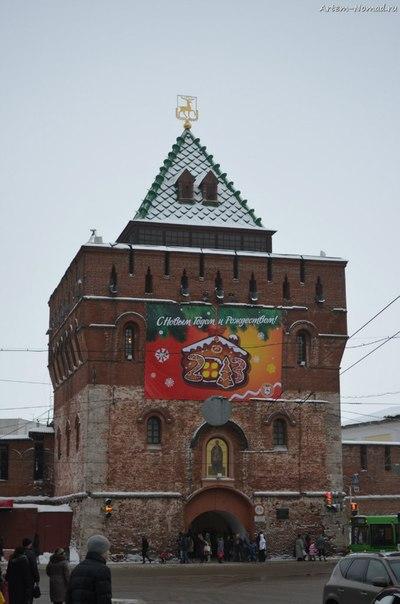 Дмитровская  башня кремля