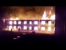 Пожар на Сухонской Вологда