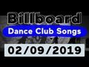 Billboard Top 50 Dance Club Songs (February 9, 2019)