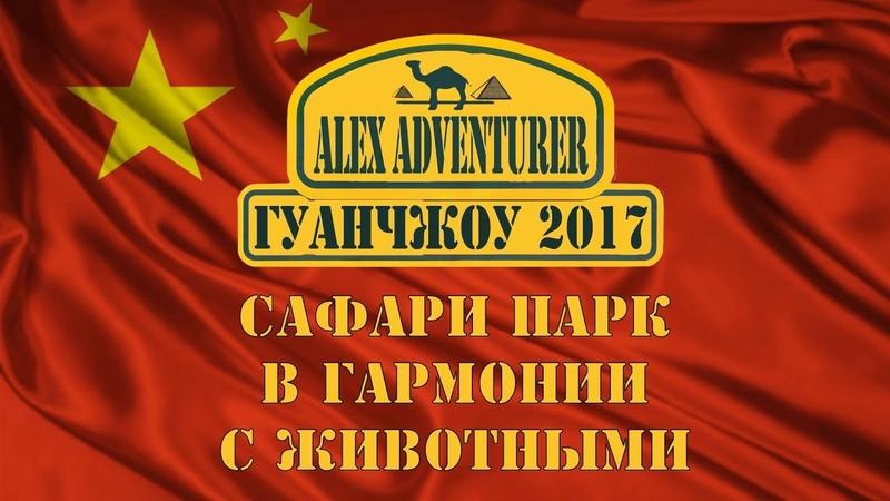 Гуанчжоу 🇨🇳 Сафари парк 1 Часть Алекс Авантюрист Ощути гармонию