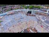 Exclusive drone footage of #SpursNewStadium ️