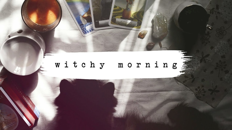 WITCHY MORNING || Smoothie, Kitty and Bullet Journal