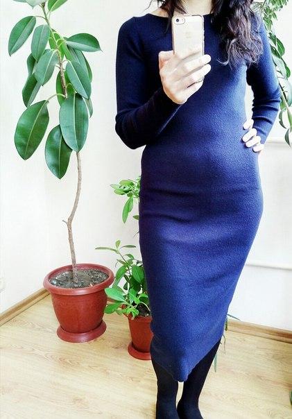 Базовое теплое трикотажное платье Это платье, однозначно заслуживает отдельного