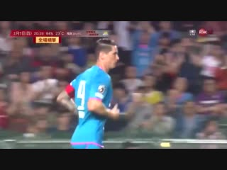 Otro gol de @torres no basta para ganar una intensa final de la cny cup 1-3 second torres