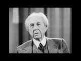 Frank Lloyd Wright Interview (1958) - Famous Architect at Age 83