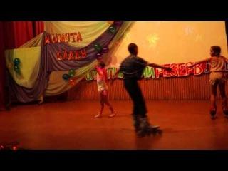 Ролики и гимнастка Минута славы