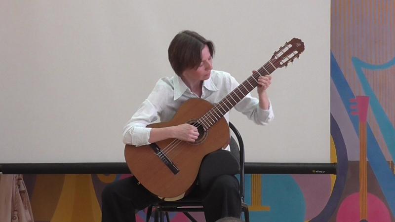 Ирина Александровна.Фестиваль Гит-art