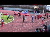 Firefighter Olympic CTIF Mulhouse 2013 100m obstacles final run