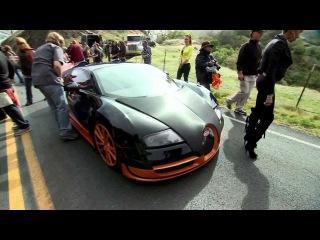 Видео со съемок фильма Жажда скорости / On The Set Need For Speed Movie (2014)