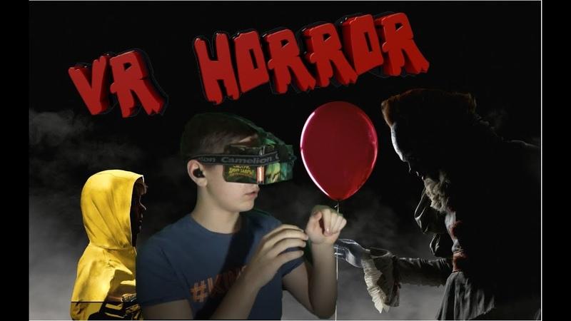 РЕАКЦИЯ на VR хоррор | ОНО | IT