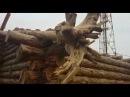 Видео-обзор дома из рубленного бревна построенного компанией Ро-Строй