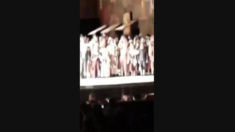 Опера Богема, гастроли Большого театра в Челябинске.