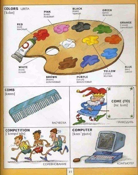 картинки по английскому языку
