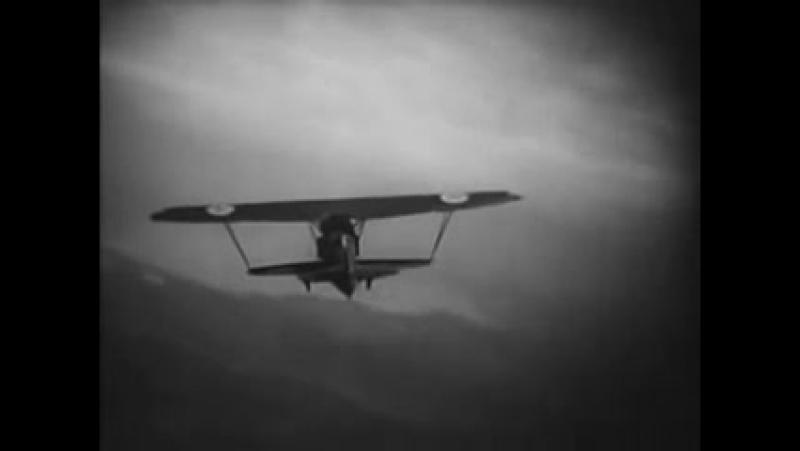 Валерий Чкалов. Полет под Троицким мостом. 1940 г.