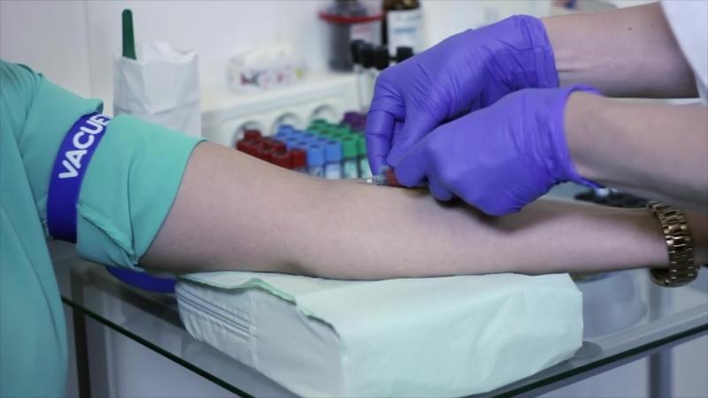 Техника взятия венозной крови