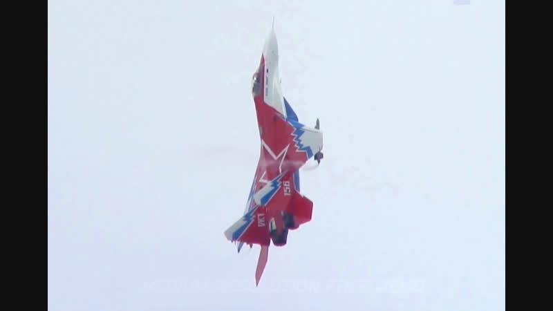 МиГ-29 (ОВТ -опытный вариант с отклоняемым вектором тяги)