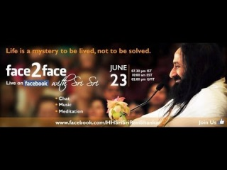 Facebook Chat Show: Bawa & Dinesh - Sri Sri as I know him