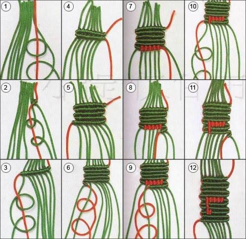 Плетём фенечки!))