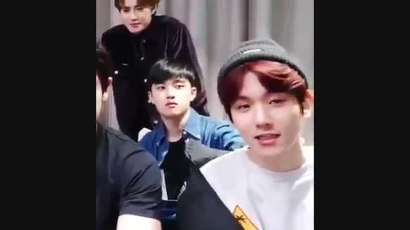 Red haired Baek