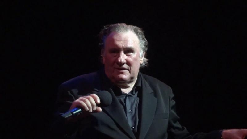 Gérard Depardieu - Dis quand reviendras-tu (Live, 2017)