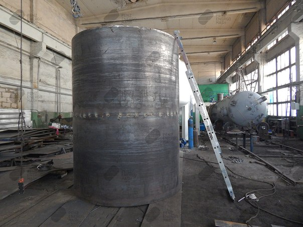 Резервуары горизонтальные стальные РГС Н1-15
