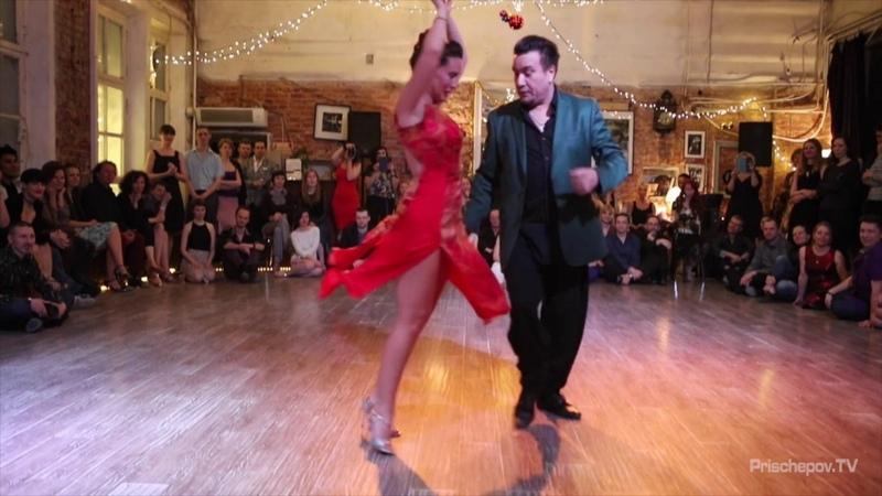 Mariano Chicho Frumboli and Juana Sepulveda, 4-5, Moscow, Planetango, 8.01.2017