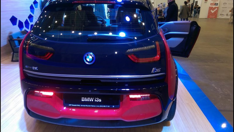 BMW i3s 2018 электромобиль