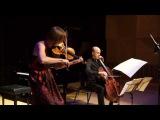 Seraphim Trio perform Ravel Sonata for violin and cello