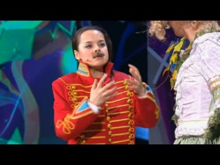 Камеди Вумен/Comedy Woman. Александр Гудков, Наталия Медведева - Гусар и девушка в лесу