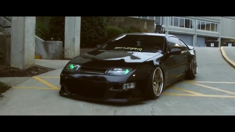 Bagged Nissan 300zx Indefinite Edits | Perfect Stance