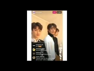 [predebut] Сяоцзюнь в трансляции SM rookies