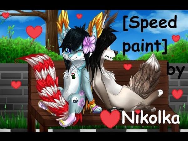[Speed Paint 4] by Nikolka