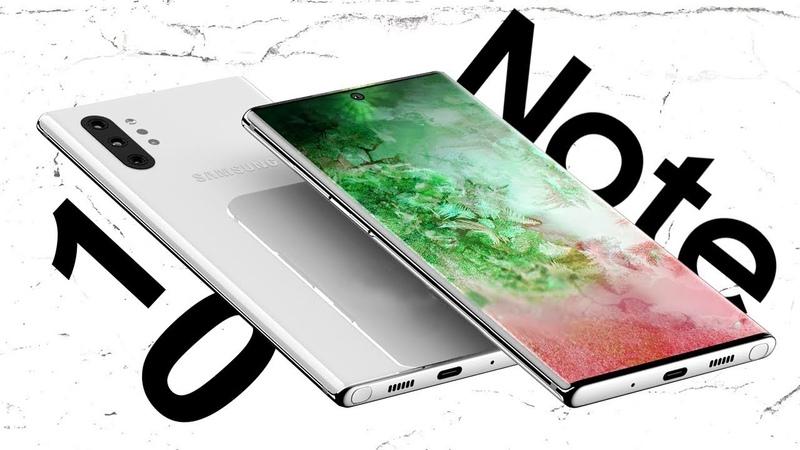 Galaxy Note 10 и Note 10 Pro ОФИЦИАЛЬНЫЕ РЕНДЕРЫ 🔥