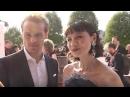 Катрина Балф и Сэм Хьюэн на красной дорожке BAFTA TV для London Live rus sub