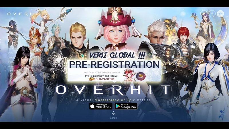 Versi Global SEGERA Pre Registrasi NOW OVERHIT Android iOS RPG by Nexon