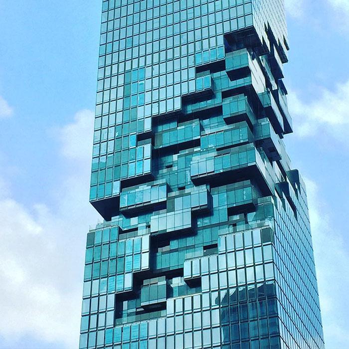 В Тайланде построили самый необычный небоскреб в мире