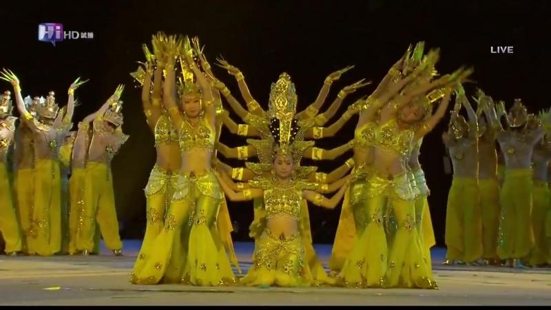 Chinese Hearing Impaired Dancers-Thousand Hand Bodhisattva