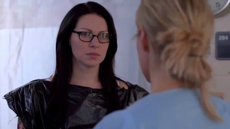 OITNB 3x02 alex and piper angry library scene