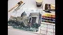 Бесплатный мастер класс по акварельной живописи Казанский собор
